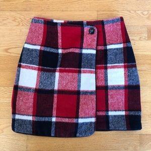 Twik plaid miniskirt